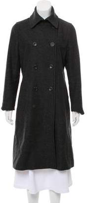 Theory Wool Long Coat