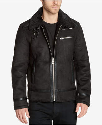 GUESS Men's Aviator Jacket