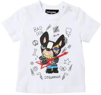 DSQUARED2 Ciro Printed Cotton Jersey T-Shirt