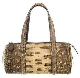Alaia Lizard Handle Bag