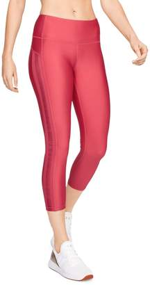 Under Armour HeatGear Ankle Cropped Branded Leggings
