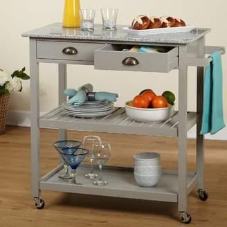 Charlton Home Brundidge Rolling Kitchen Cart