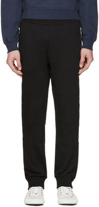 Versace Black Zippered Lounge Pants $925 thestylecure.com
