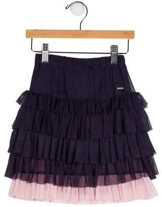 Repetto Girls' Ruffle Skirt