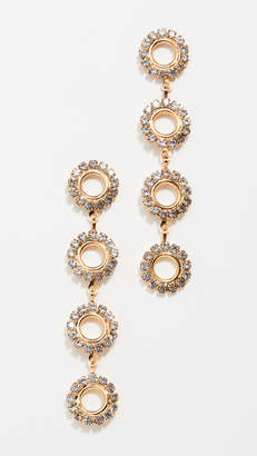 Elizabeth Cole Minka Linear Drop Earrings