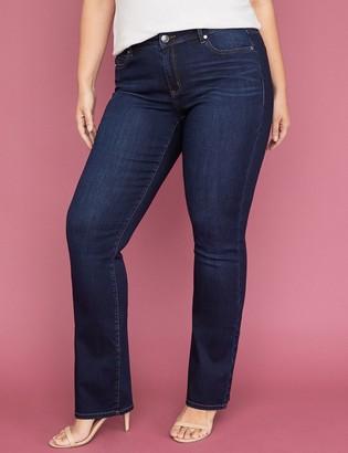 Lane Bryant Super Stretch Slim Boot Jean - Dark Wash