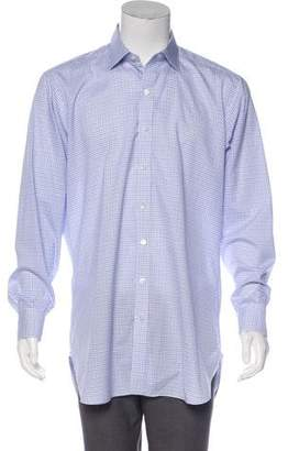 Turnbull & Asser Check Print Shirt
