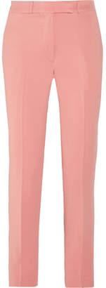 Etro - Violante Cady Slim-leg Pants - Pink $620 thestylecure.com
