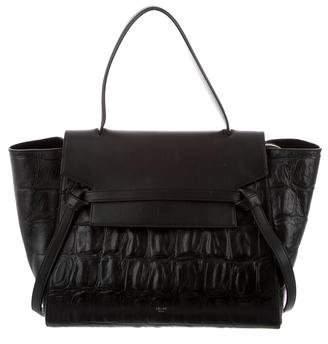 Celine Embossed Belt Bag