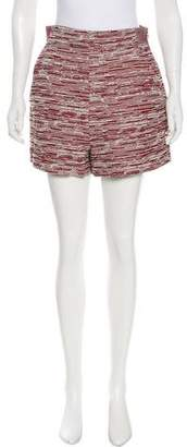 Proenza Schouler High-Rise Tweed Shorts