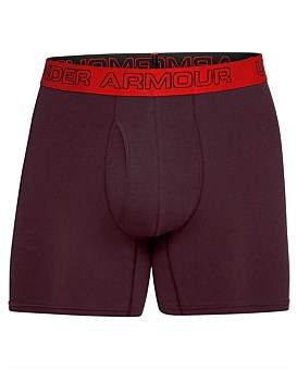 Under Armour Charged Cotton 6In 3Pk Trunk