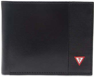 GUESS Men's Pieced-Leather Rfid Wallet