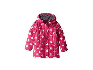 Hatley Metallic Dots Fleece Lined Puffer Coat (Toddler/Little Kids/Big Kids)
