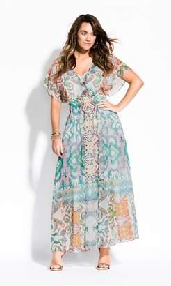 City Chic Citychic Casablanca Maxi Dress - ivory