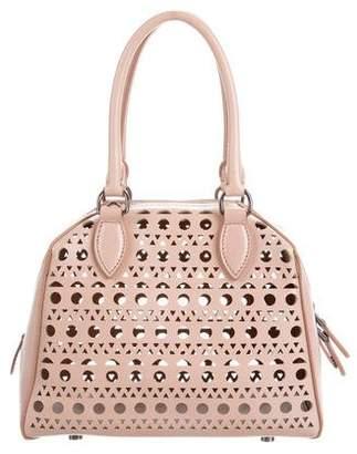 Alaia Vienne Mini Laser-Cut Bag