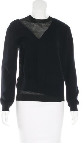 CelineCéline Wool & Cashmere-Blend Sweater w/ Tags