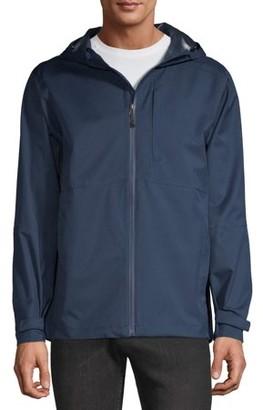 Swiss Tech Men's Rain Shell Jacket, up to Size 5XL