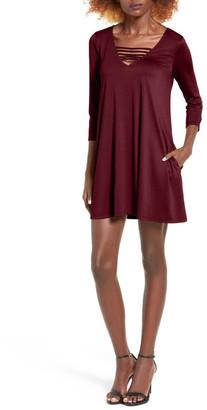 Socialite Serena Three Quarter Sleeve Dress $45 thestylecure.com
