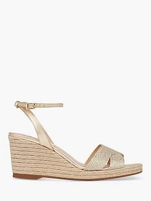 2b21ddd4ca80 at John Lewis and Partners · LK Bennett L.K.Bennett Mabella Wedge Heel  Sandals