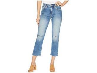 Mavi Jeans Niki Straight Crop in Light Ripped Vintage
