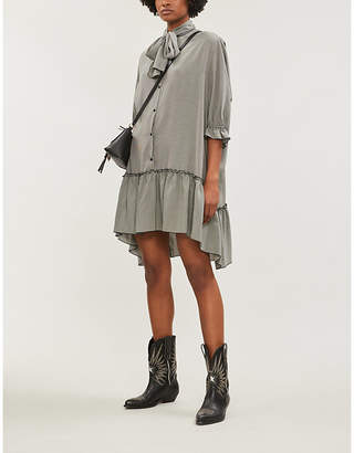 See by Chloe Checked woven dress