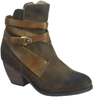 Antelope 603 Leather Gillie Wrap Bootie