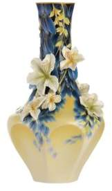Franz Collection Hong Kong Orchid Vase, Limited Edition