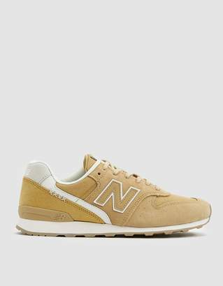New Balance 696 Sneaker in Yellow