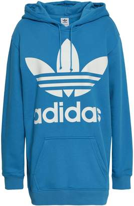 adidas Printed French Cotton-blend Terry Hoodie
