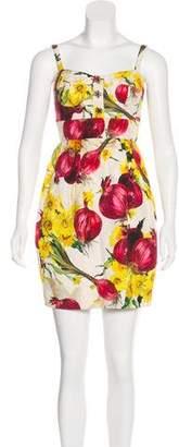 Dolce & Gabbana Matlassé Onion Dress