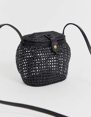 Faithfull The Brand Faithfull paloma shoulder basket bag