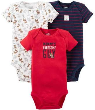 0a2787cac Carter's Child of Mine by Child Of Mine by Newborn Baby Boy Bodysuits 3-Pack