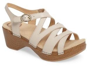 Women's Dansko 'Stevie' Platform Sandal $119.95 thestylecure.com