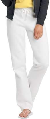 Hanes W550 Ecosmart Cotton-Rich Women Drawstring Sweatpants Size 3 Extra Large, White