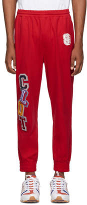 Clot Red Applique Lounge Pants