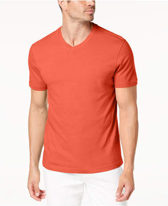 Club Room Men's Solid V-Neck T-Shirt