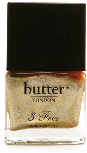 Butter LONDON 3 Free Nail Lacquer, The Full Monty 0.3 fl oz  selected color: The Full Monty Everyday Free Shipping This item must be shipped via ground transportation. Auto Delivery Eligible 100% color guarantee Email A Friend Write a review
