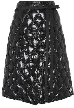 Moncler Quilted down skirt