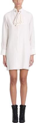 Chloé Beige Silk Dress
