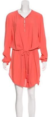 Diane von Furstenberg Sliced Crepe Dress
