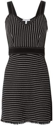 Derek Lam 10 Crosby Striped Mini Knit Dress