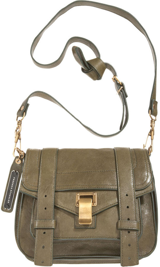 Proenza Schouler PS1 Mini Leather Crossbody