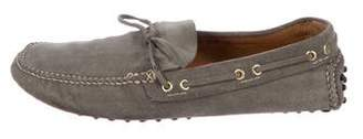 Car Shoe Suede Driving Loafers