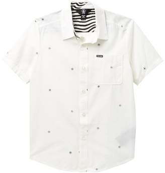 Volcom Bleeker Short Sleeve Shirt (Big Boys)