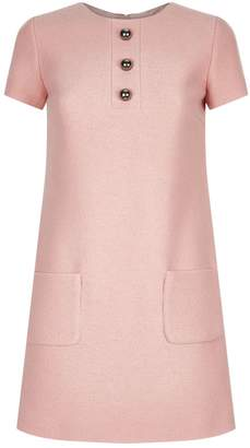 Paule Ka Button A-Line Dress