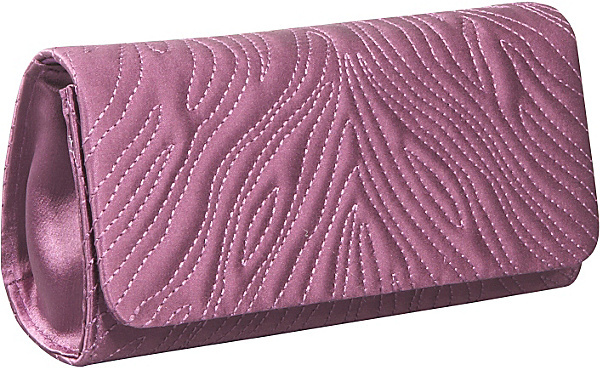 Inge Christopher Olivia Silk Clutch
