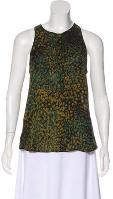 A.L.C. Sleeveless Silk Top