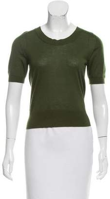 Dolce & Gabbana Cashmere Short Sleeve Top