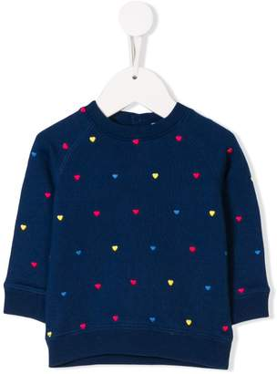 Stella McCartney heart embellished sweatshirt