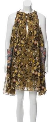 Isabel Marant Silk Floral Dress